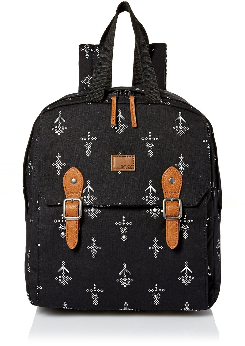 Roxy Iconic Stop Backpack ANTHRACITE SIMPLE AZAZ