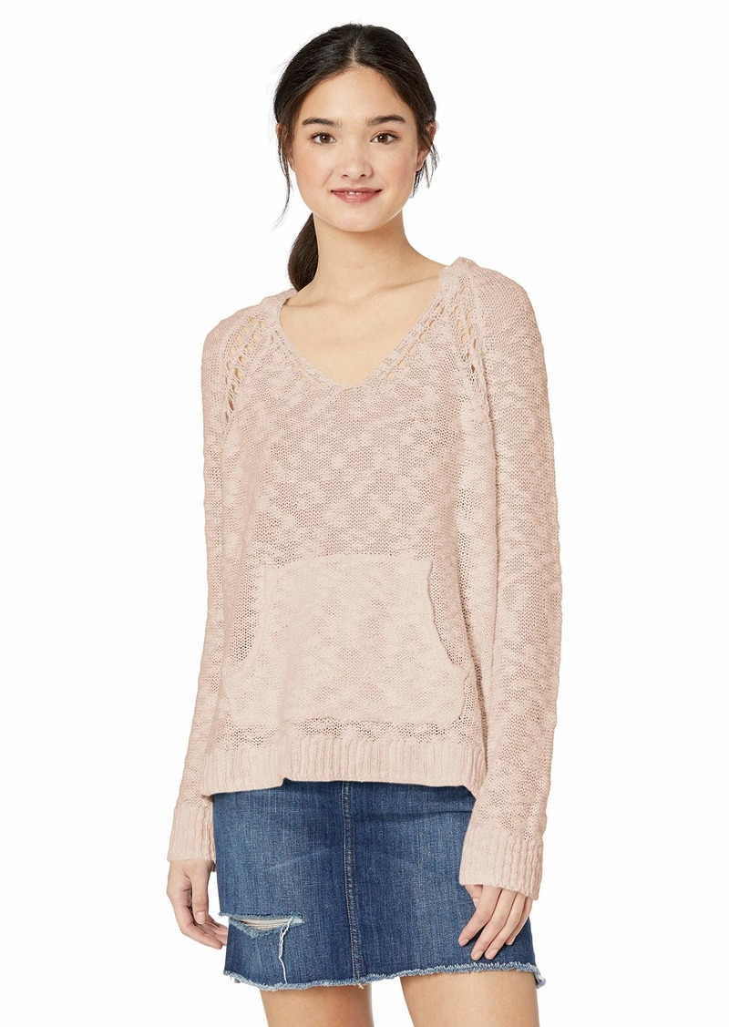 Roxy Junior's Airport Vibes Lightweight Hooded Sweater  XL