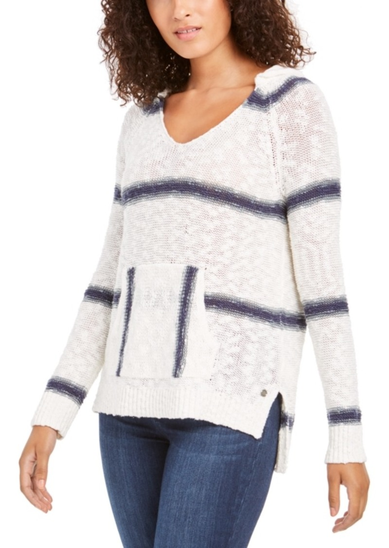 Roxy Juniors' Airport Vibes Striped Sweater