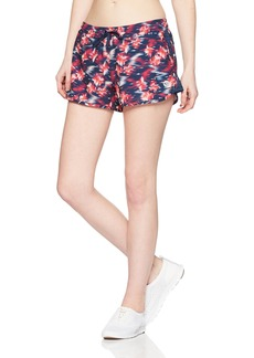 Roxy Junior's All in Time Printed Short Dress Blues neon Waterfall M