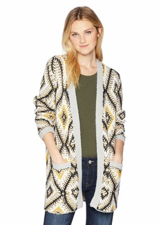 ROXY Junior's All Over Again Cardigan Sweater  M