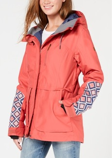 Roxy Juniors' Andie Hooded Snow Jacket