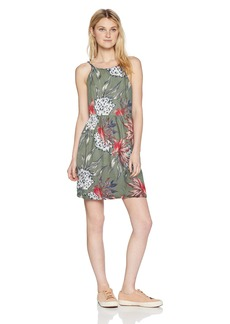 Roxy Junior's Antelope Curves Dress Olive House of The Sun XS