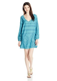 Roxy Junior's April Morning Long Sleeve Dress  M