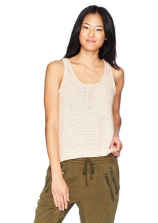 Roxy Junior's Army Shades Sweater Tank Top  S