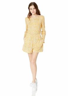 Roxy Junior's Beach Chiller Romper Dress Ochre from The Forest M