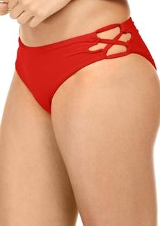 Roxy Juniors' Beach Classics Lace-Up Bikini Bottoms Women's Swimsuit