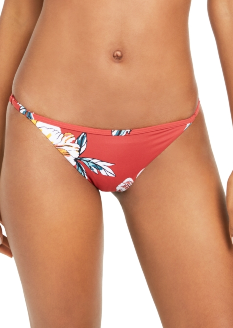 Roxy Juniors' Beach Classics Printed Bikini Bottoms Women's Swimsuit