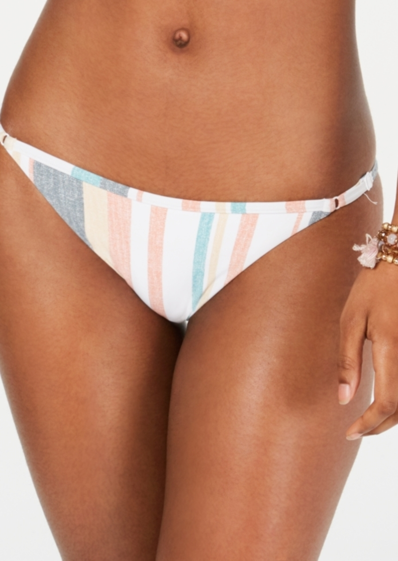 Roxy Juniors' Beach Classics Striped Bikini Bottoms Women's Swimsuit
