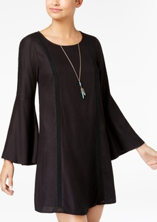 Roxy Juniors' Bell-Sleeve Shift Dress