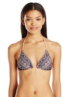 Roxy Junior's Boho Reversible Tiki Tri Bikini Top