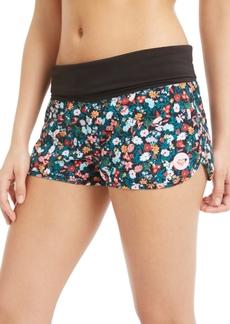 Roxy Juniors' Bouquet Printed Endless Summer Board Shorts Women's Swimsuit
