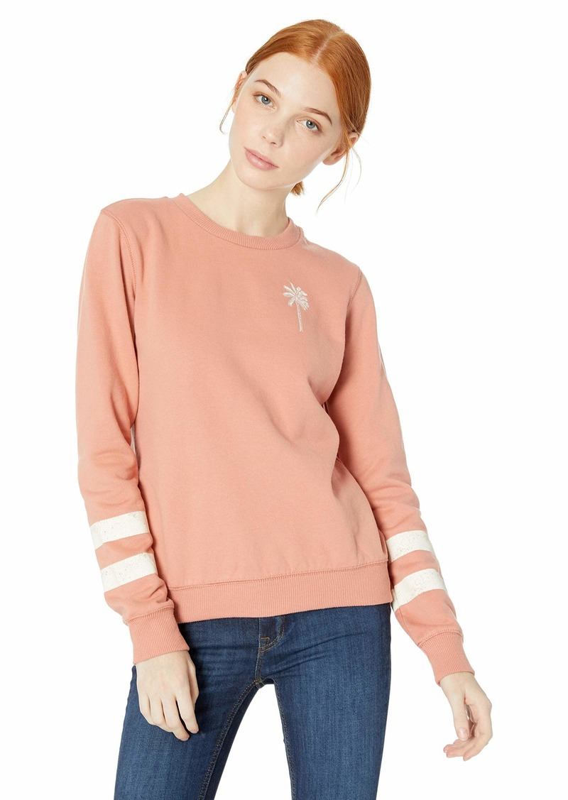 ROXY Junior's Burning Stars Pullover Sweatshirt  M