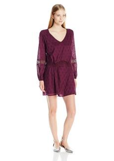 Roxy Juniors Cali Stars Long Sleeve Dress