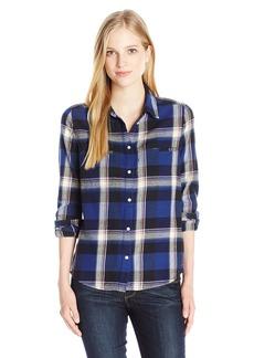 Roxy Juniors Campay Long Sleeve Flannel Shirt