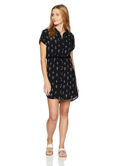 Roxy Junior's Canyon Space Dress Anthracite Simple AZAZ L
