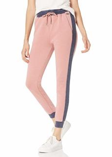 Roxy Junior's Catch The Night Colorblock Fleece Pant ash Rose S