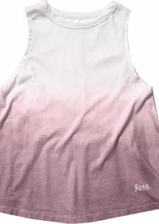 Roxy Junior's Celebrate Dip Dye Muscle Tank Top