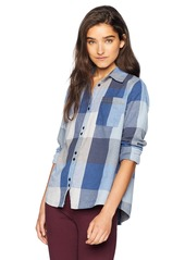 Roxy Junior's Concrete Streets Check Shirt  XS