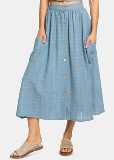 f2d8bbe19278 Roxy Roxy Women's Land of Beauty Maxi Skirt Reflective Pond Java ...