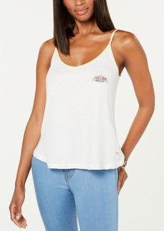 Roxy Juniors' Cotton High Tides Strappy Tank Top