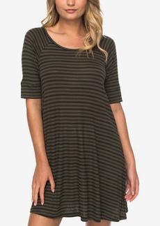Roxy Juniors' Cotton Smitten Kitten Striped Dress