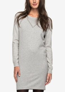 Roxy Juniors' Cotton Sweatshirt Dress