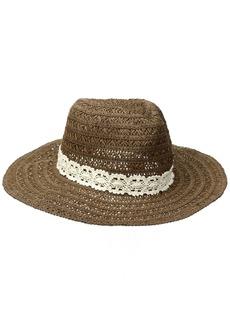 Roxy Junior's Cowgirl Straw Hat  M/L