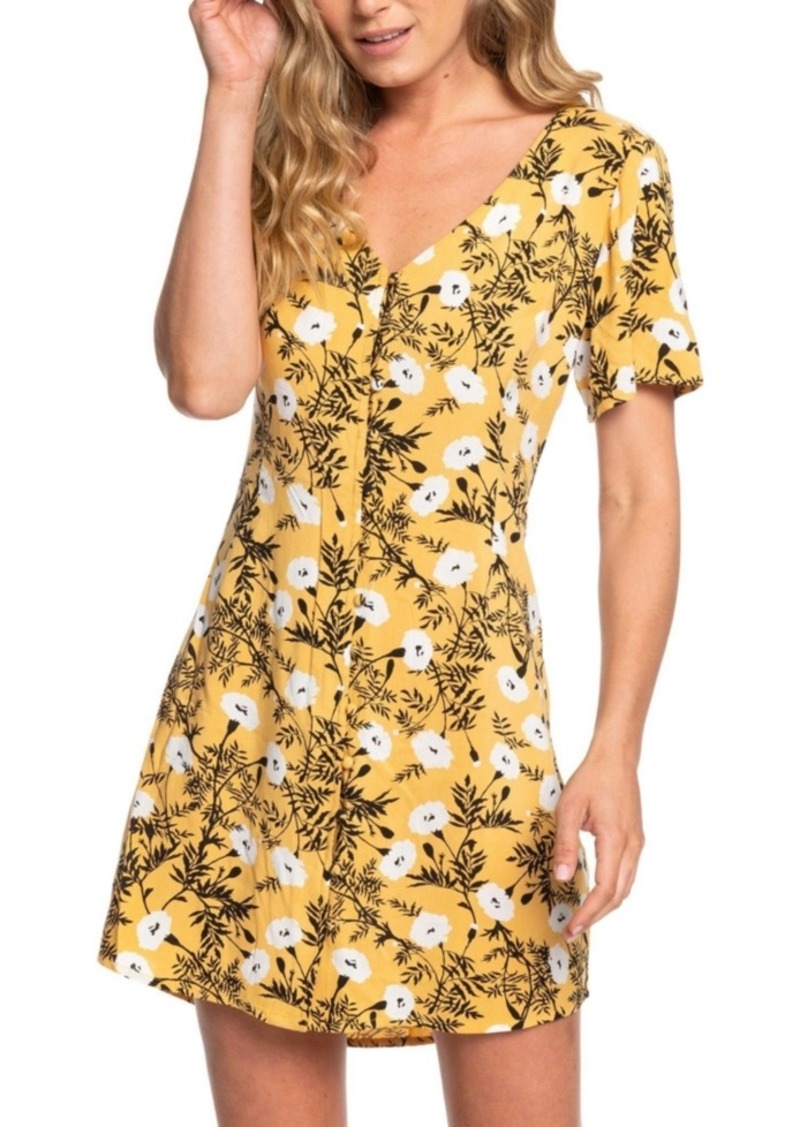 Roxy Juniors' Damage Love Floral-Print Fit & Flare Dress