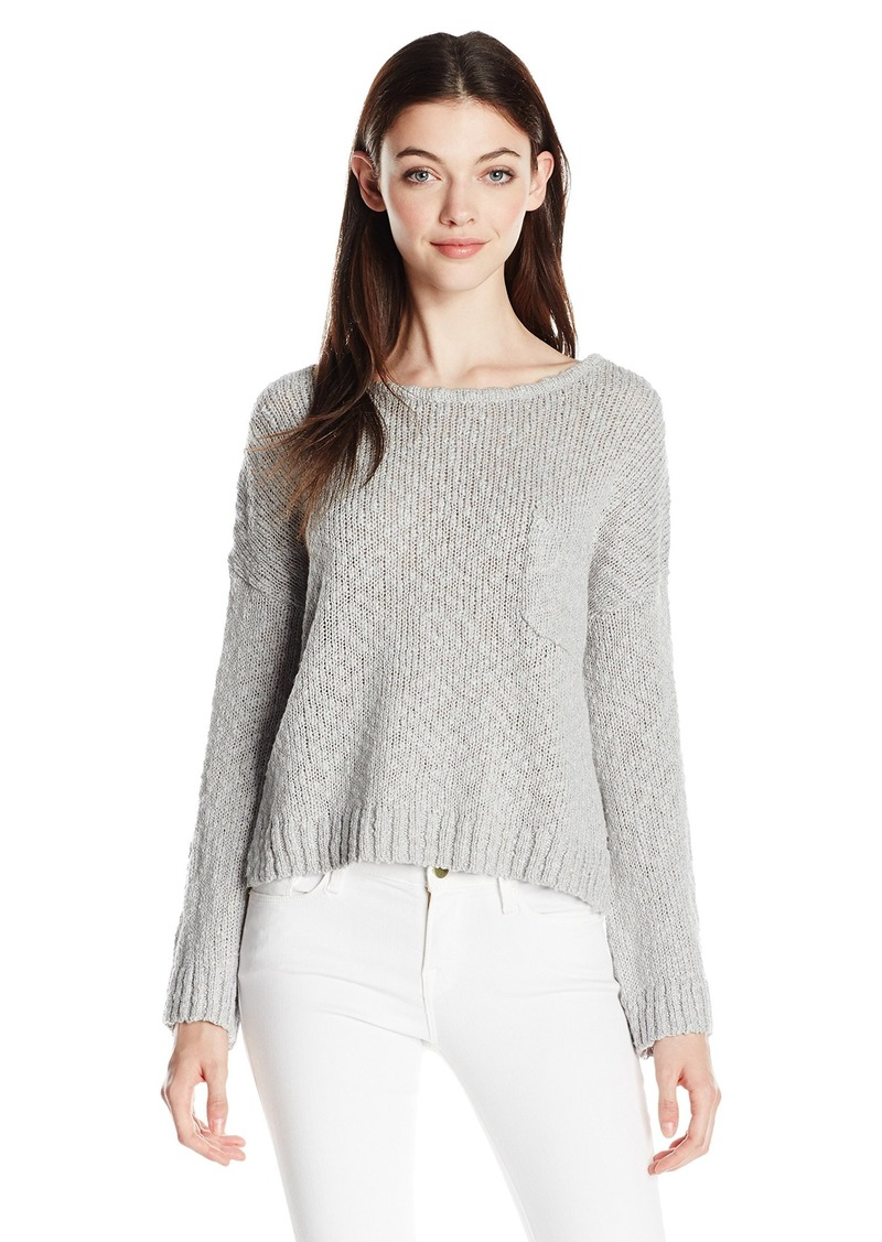 Roxy Junior's Don't Think Twice Cropped Sweater  L