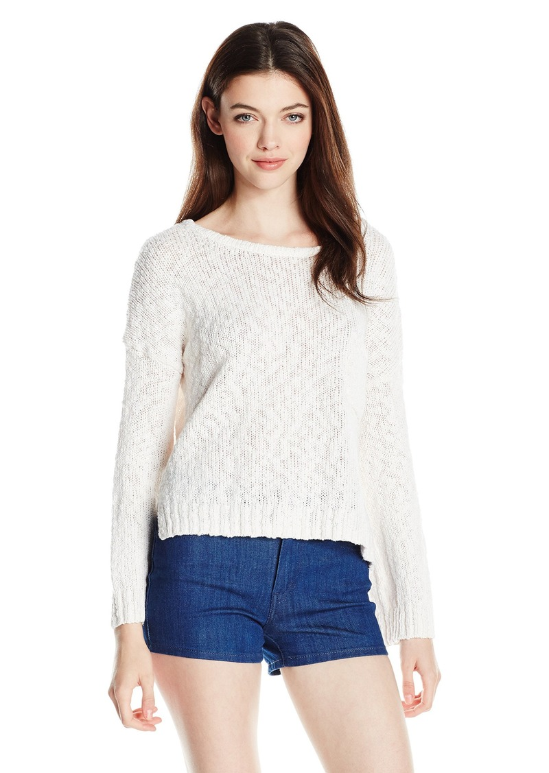Roxy Roxy Juniors Dont Think Twice Cropped Sweater S Sweaters