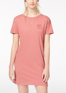 Roxy Juniors' Down the Line Cotton T-Shirt Dress