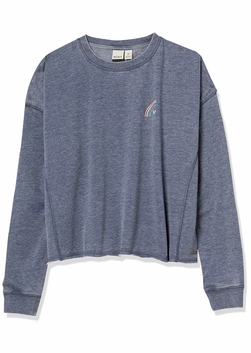 Roxy Junior's Dream Believer Crew Neck Fleece  L