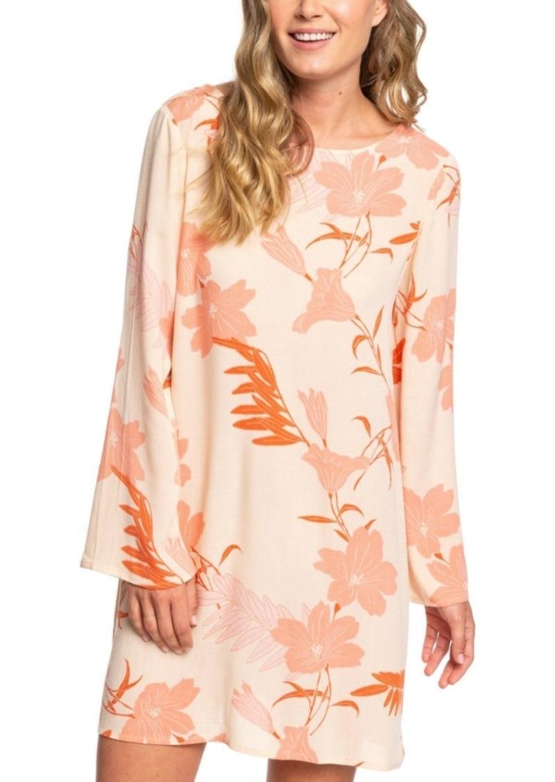 Roxy Juniors' Dusk Til Dawn Bell-Sleeve Dress