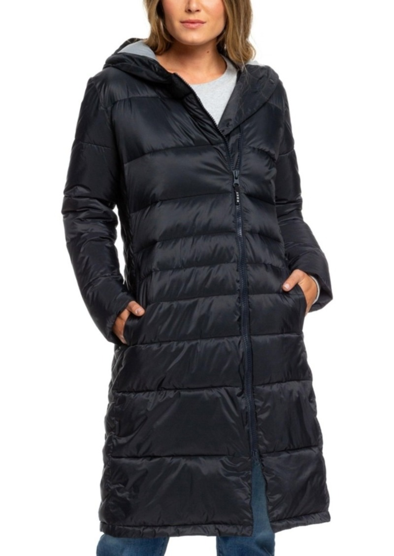 Roxy Juniors' Everglade Hooded Puffer Coat