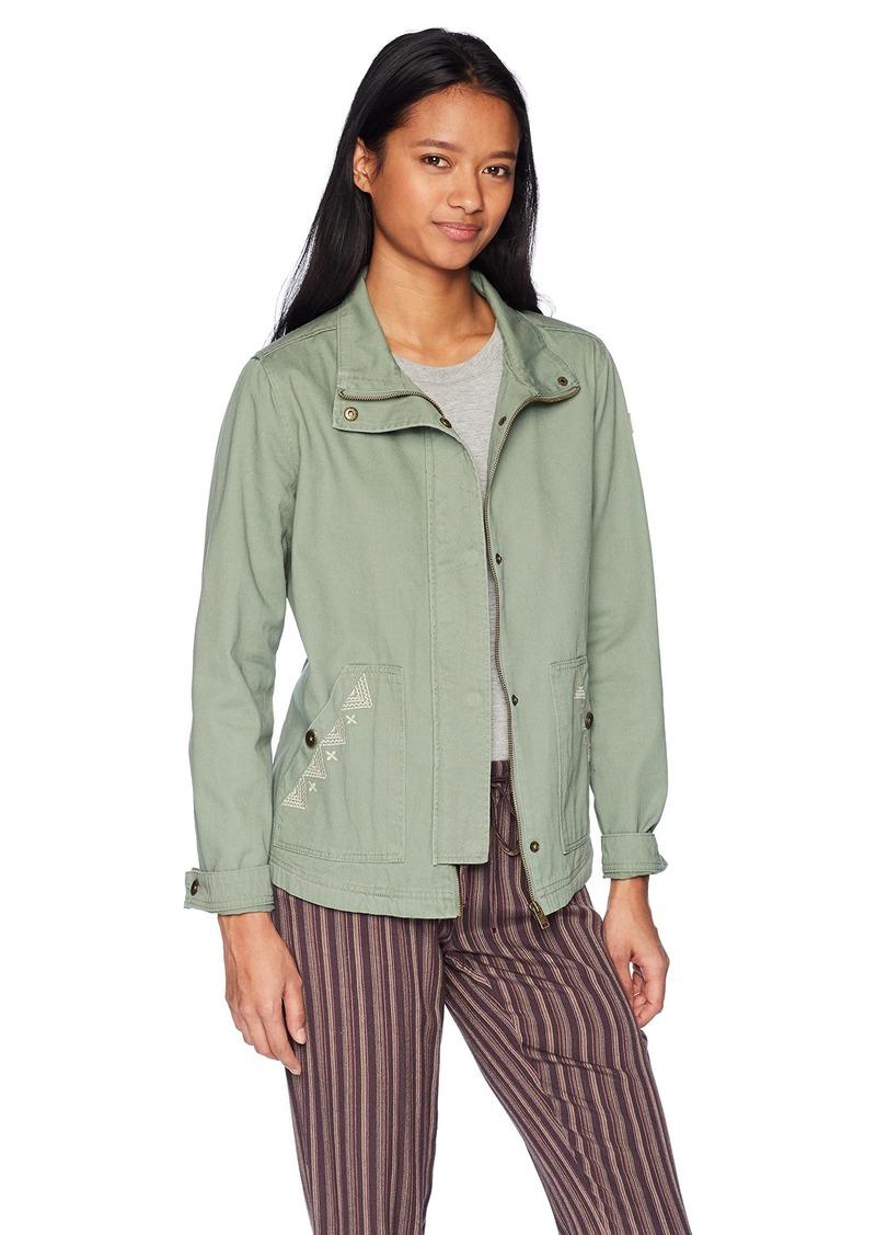 Roxy Junior's Falling Stars Military Jacket  XL