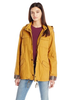 Roxy Juniors Fancy Durban Military Jacket  X-Small