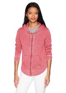 Roxy Junior's Fashion Hooded Sweatshirt  L