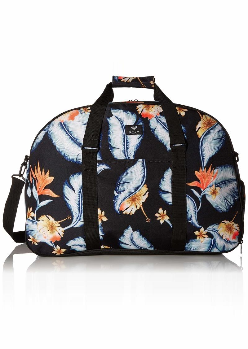 Roxy Junior's Feel Happy Big Duffle Bag anthracite tropical love sample