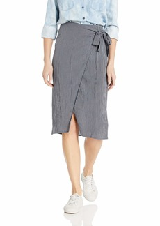 ROXY Junior's Ferry Escape Wrap Dye Skirt  M
