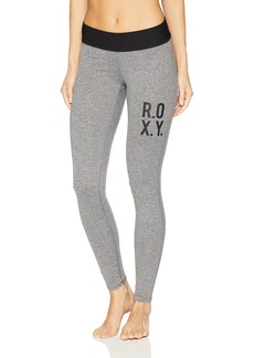 Roxy Junior's Fields of Gold Legging Workout Pant  XS
