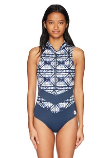 Roxy Junior's Fitness Sporty One Piece Swimsuit  S