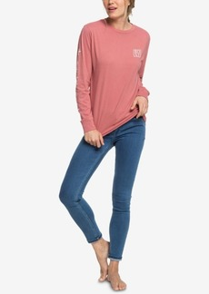 Roxy Juniors' Floral-Print T-Shirt