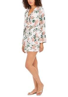 Roxy Juniors' Floral Romper