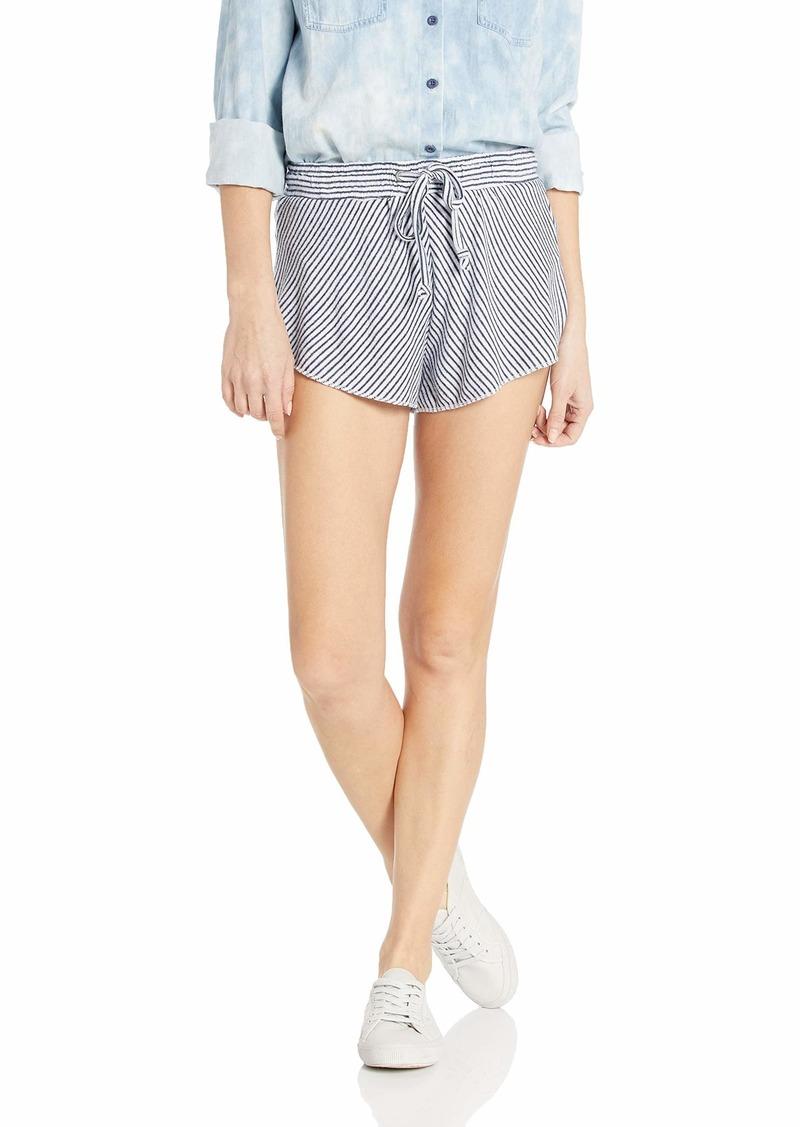 Roxy Junior's Forbidden Summer Stripe Cozy Short Dress Blue Cosy L