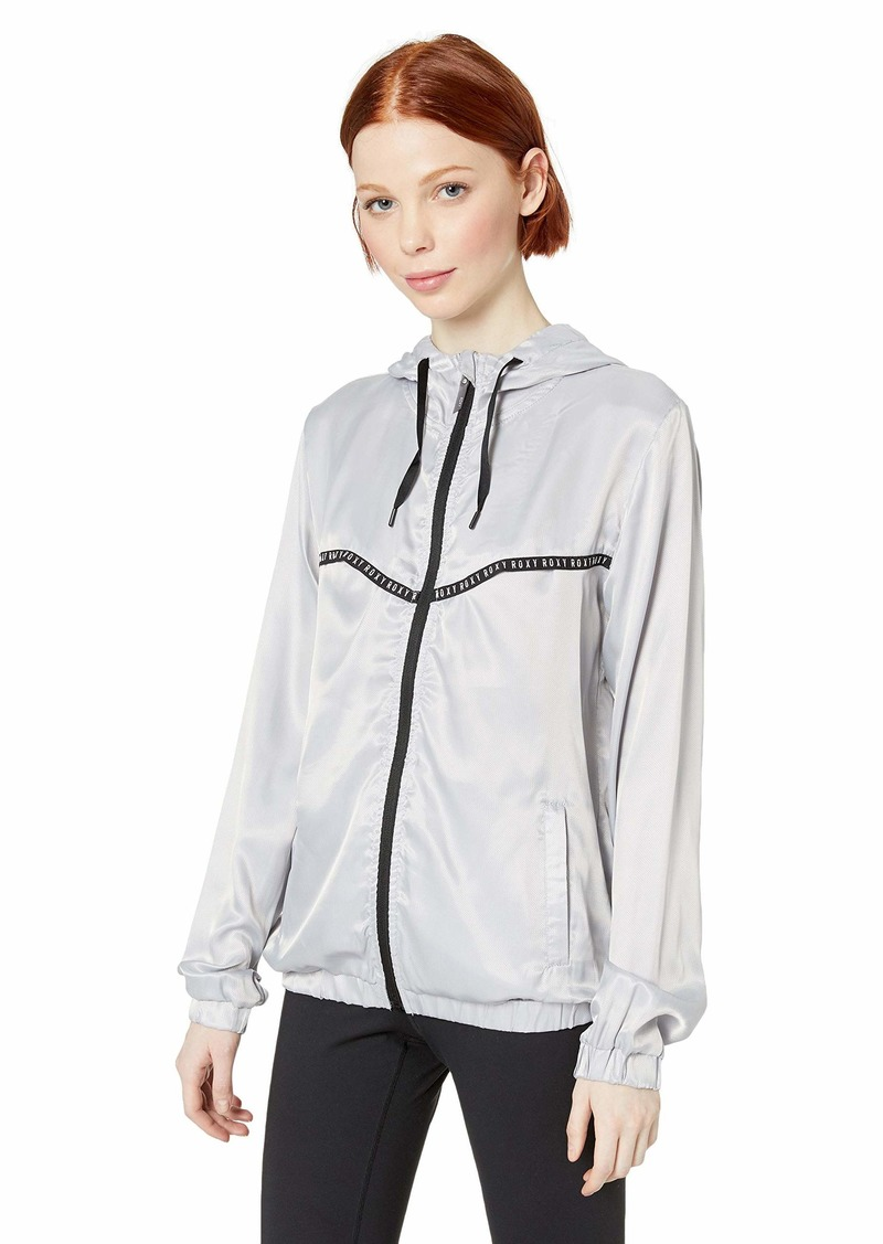 Roxy Junior's Freaky Styley Lightweight Workout Jacket  L