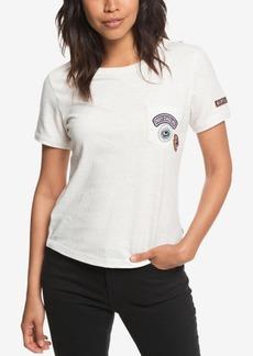 Roxy Juniors' Frosty Garden Patch T-Shirt