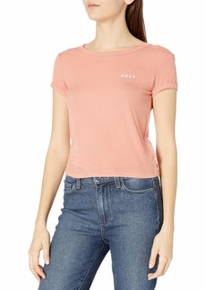 Roxy Women's Frozen Day Tee canyon clay L