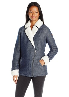 Roxy Juniors Full Moon Fleece Jacket  Medium