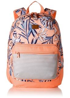 Roxy Junior's Happy at Home Girls Backpack SOUFFLE CARVICO LAFITENIA